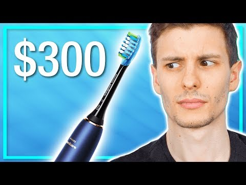 A $300 Toothbrush? Worth It?  (Philips Sonicare DiamondClean)