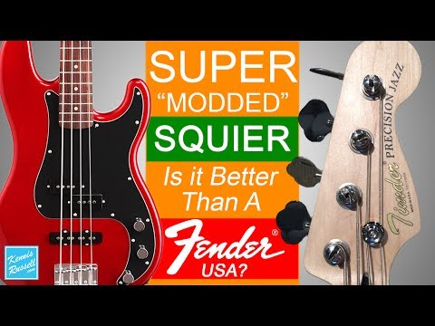Did I Just Mod A Squier Bass Better Than An American Fender?