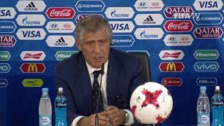 RUS v POR - Fernando Santos - Portugal Post-Match Press Conference