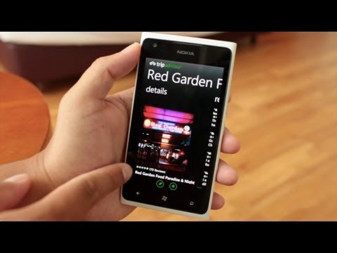 5 Great Apps for Travel. Demo on Nokia Lumia 900 Windows Phone