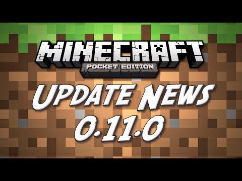 [0.11.0] Minecraft Pocket Edition 0.11.0 Update News! (New Developer, Text Fix)