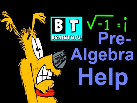 Pre Algebra Basic Math Help - Imaginary numbers and Square Roots Cartoon Video