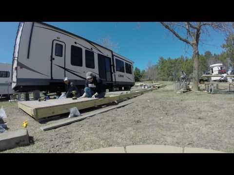 Camper Deck Build