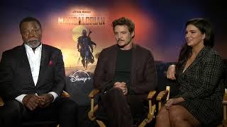 Star Wars: The Mandalorian: Pedro Pascal, Gina Carano & Carl Weathers Interview