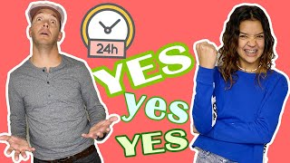 Parents SAY YES for 24 hours! CAN'T SAY NO!
