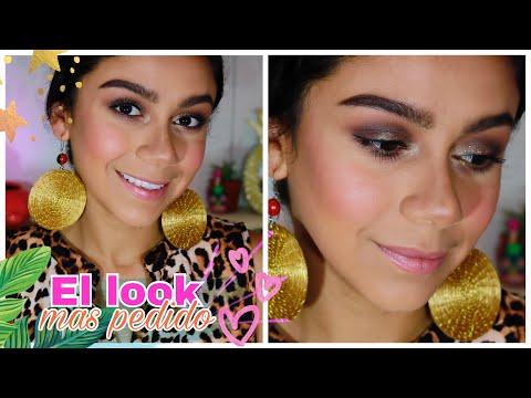 El look más pedido | Ahumado café con Glitter | Sweet! Sixteen color eyeshadow LA Colors