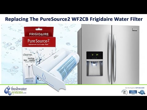 How To Change Frigidaire WF2CB PureSource2 Refrigerator Water Filter
