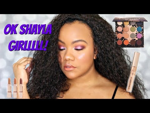 SHAYLA X COLOURPOP | FIRST IMPRESSIONS AND DEMO