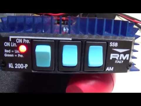 Galaxy/Palomar Elite 250 Mobile Linear Amplifier