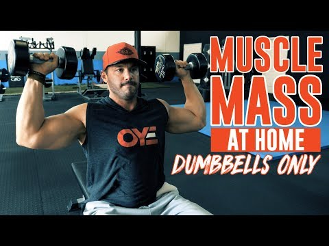 You CAN Build LEAN Muscle Mass at Home with Dumbbells