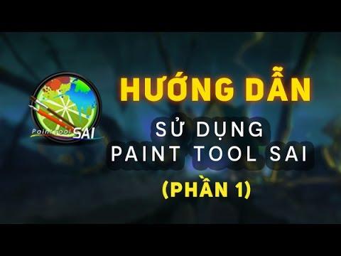 PaintTool SAI - Bài 1: Làm quen với SAI