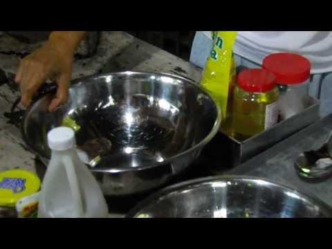 Making Crispy Pili Nut candy the traditional Filipino way