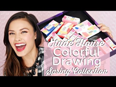 New Etude House Colorful Drawing Spring 2018 Collection   Haul, Swatches & Review