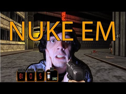 DARN IM GOOD! or...Not - Duke Nukem 20th ANNIVERSARY Gameplay