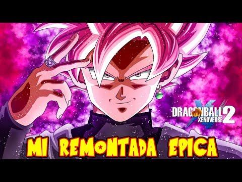 DRAGON BALL XENOVERSE 2 : MI REMONTADA MAS EPICA ONLINE BLACK GOKU SUPER SAIYAJIN ROSE ES DIOS