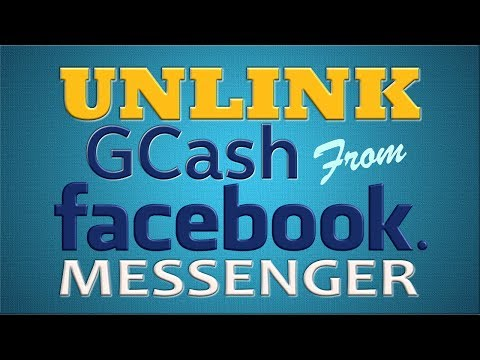 How to Unlink GCash from Facebook Messenger