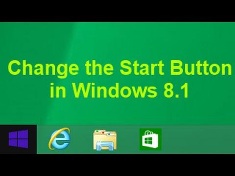 Tutorial: Change the Start Button in Windows 8.1