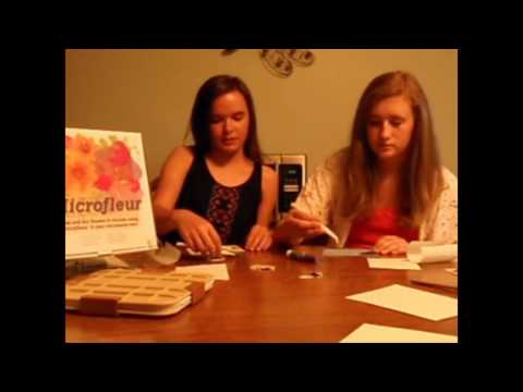 Microfleur How to make cards