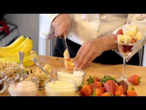How to Make Mexican Fruit Bionico : Latin Cuisine
