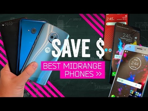 The Best Midrange Smartphones [Early 2018]