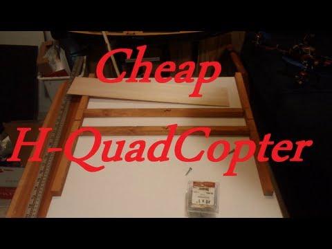 How to make a cheap Quadcopter DIY
