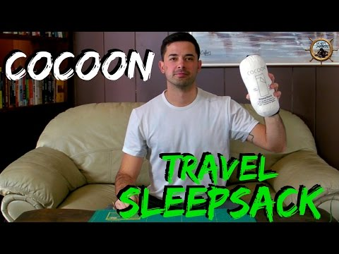 Cocoon Travel Sheet // Sleep Sack for Hostels Hotels or Backpacking