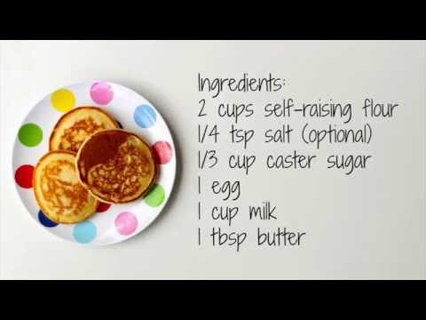 How to make pikelets