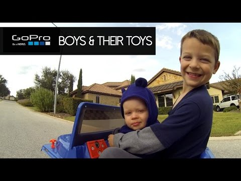 Boys and Their Toys - GoPro on Hot Wheels Jeep