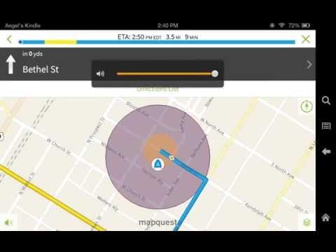 use your Kindle fire like a GPS Free all Kindle models