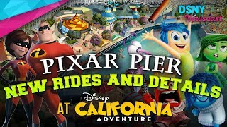 INCREDIBLES & INSIDE OUT Rides Announced For Pixar Pier at Disneyland Resort - Disney News - 11/2/17