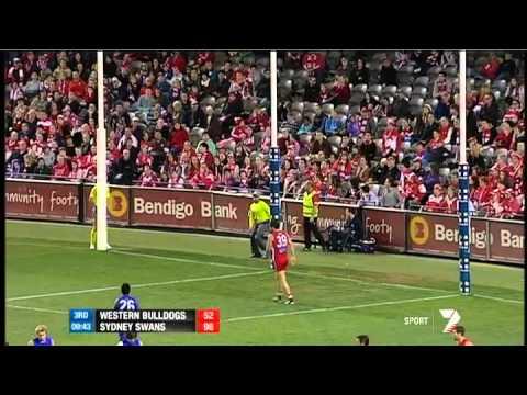 Round 21 AFL - Western Bulldogs v Sydney Swans highlights
