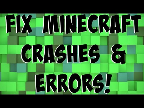 How To: Fix Minecraft Crashes & Errors in 1.7.10-1.13 (Working 2018)
