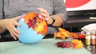 Download Inspired by Pinterest: Crafting with Fall Leaves Video