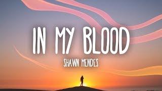 Shawn Mendes  In My Blood Lyrics