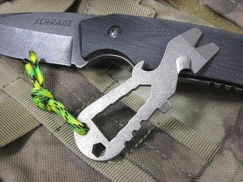 Schrade Key Chain Pry Tool - SCTPT