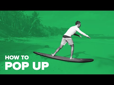 How To Pop Up on Surf
