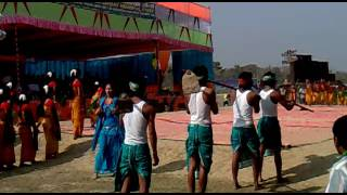 Bodo traditional dance 3 at cultural meeting