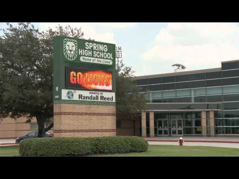 Spring High School - LED Display - Leading Edge Displays