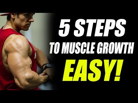 How to Build Muscle Fast Without the Bro Science (5 EASY STEPS!)