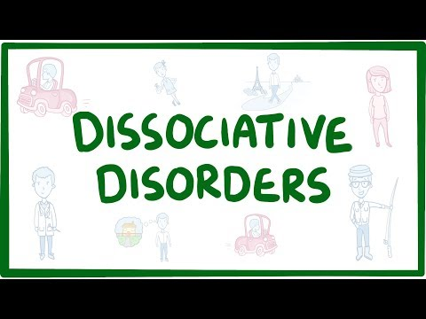 Dissociative disorders - causes, symptoms, diagnosis, treatment, pathology