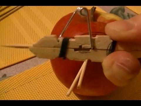 DIY - How To Make A Toothpick Gun - shooter / Tutorial