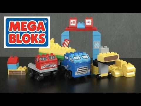 My Trekking Trucks from MEGA Bloks