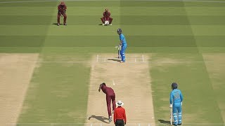 India vs WestIndies Gameplay With Ashes Cricket | CWC19 | IND VS WI | PC Gameplay