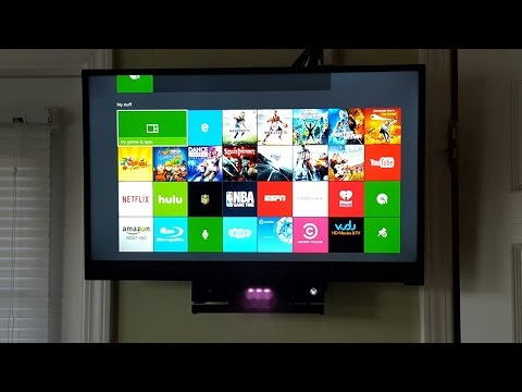 2015 xbox one kinect 2.0 wall mount under tv do it yourself