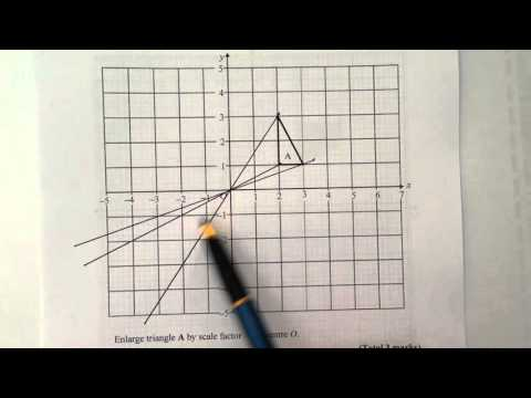 Q2 Enlargement by negative scale factor