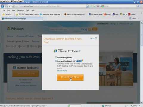 how to download internet explorer 8