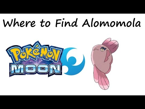 Pokemon Sun and Moon - Where to Find Alomomola