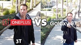 OnePlus 3T Camera vs Galaxy S7 Edge!! Side-by-Side Comparisons!