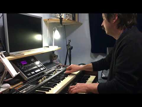 A Session On Keith Horton's Hammond SKX Organ