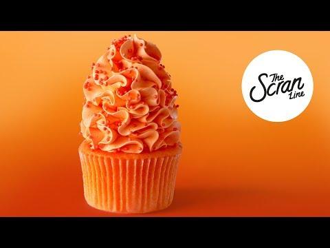 ORANGE MONKEY **SUPER EASY** CUPCAKES - The Scran Line
